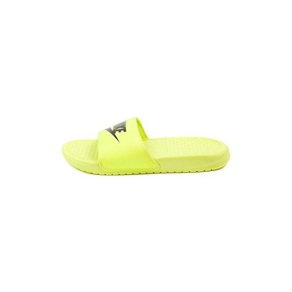 YouthTween Nike Benassi Slide, Yellow