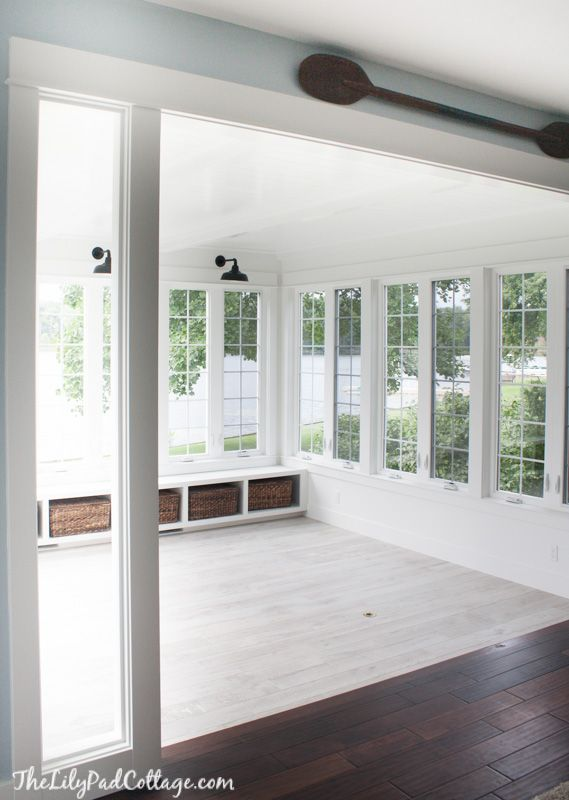 Luxury Roll Out Windows Sunroom