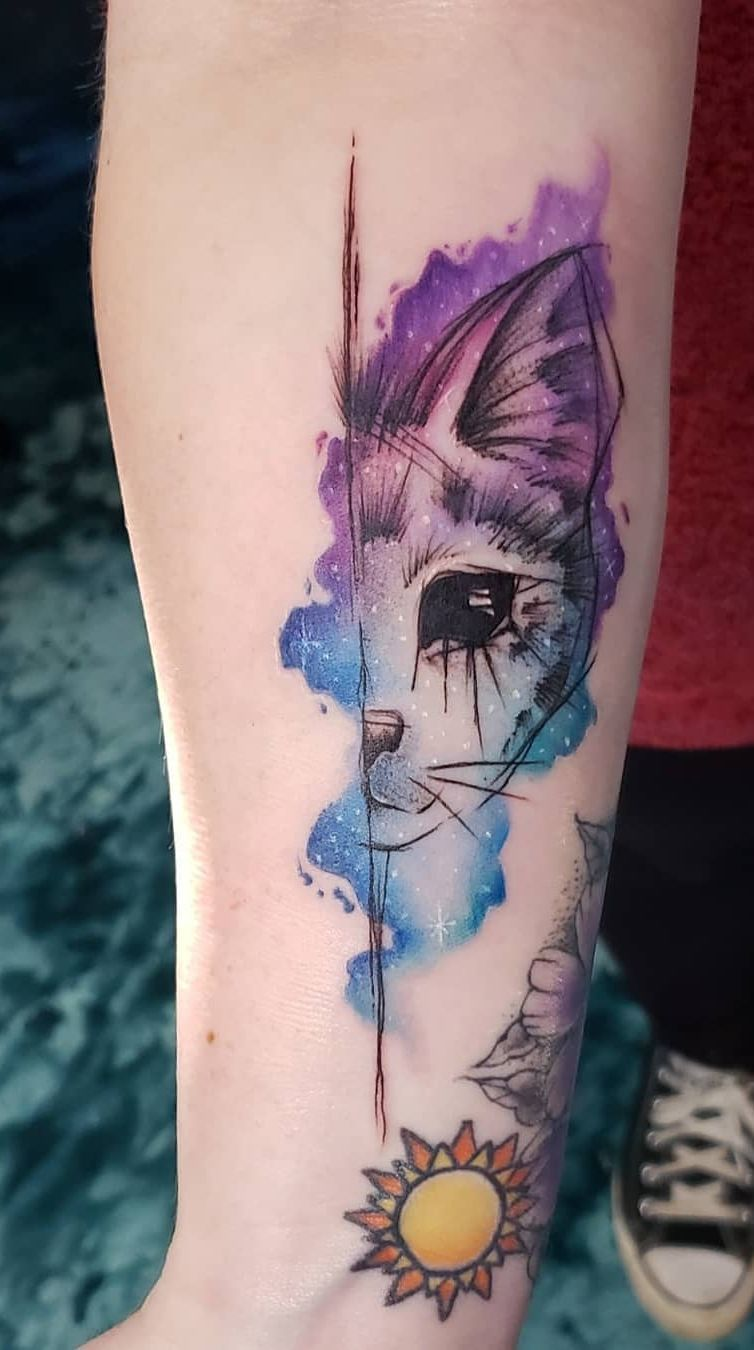 21 Beautiful Examples Of Watercolor Tattoos Tattoos Watercolor