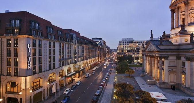 Hilton Berlin Hotel Exterior Alternate View 2