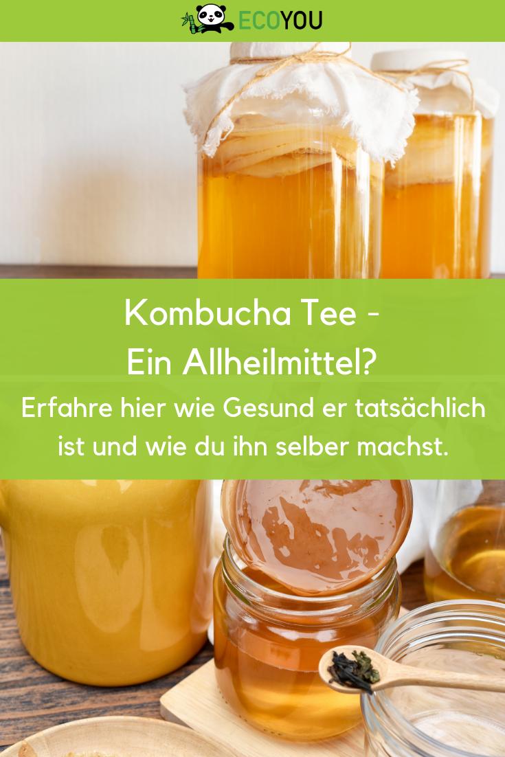 Kombucha selber machen - Der Kombucha Guide INKL. Anleitung | EcoYou #kombuchaselbermachen