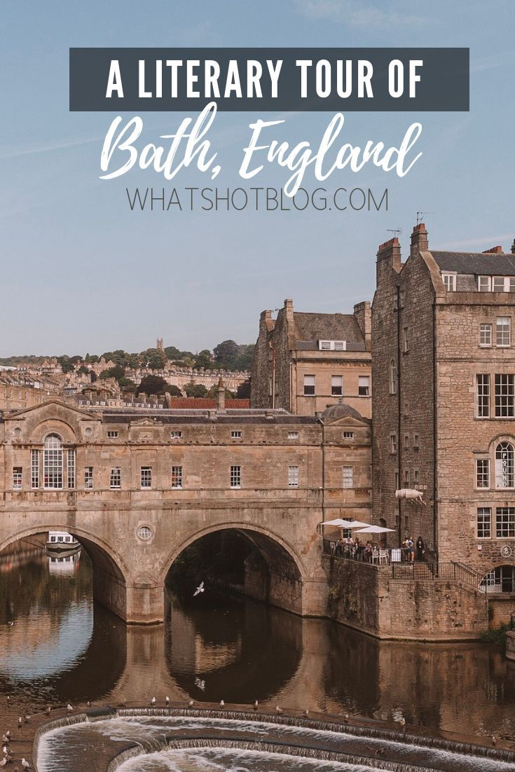 A Literary Tour of Bath Self guided Walking Tour & Maps