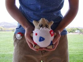 Pokeball crochet by ~Hauntingly on deviantART