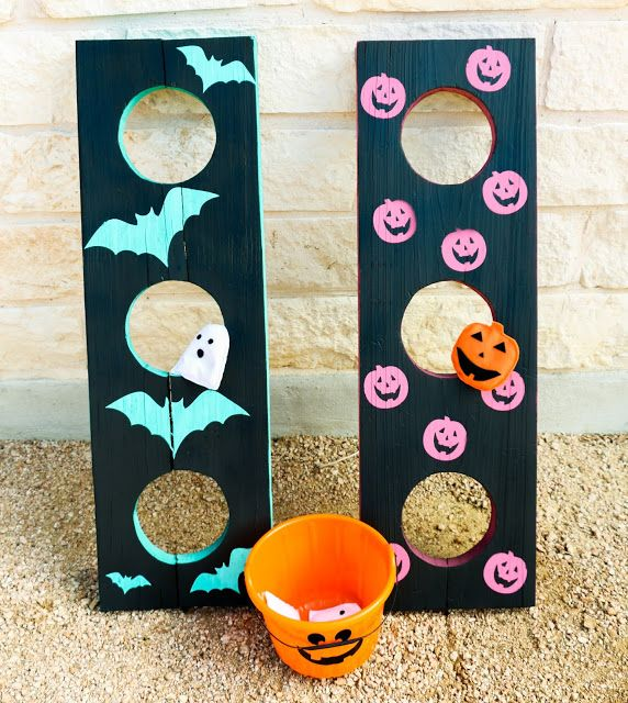 Diy It Halloween Bean Bag Toss Create With A Kailo