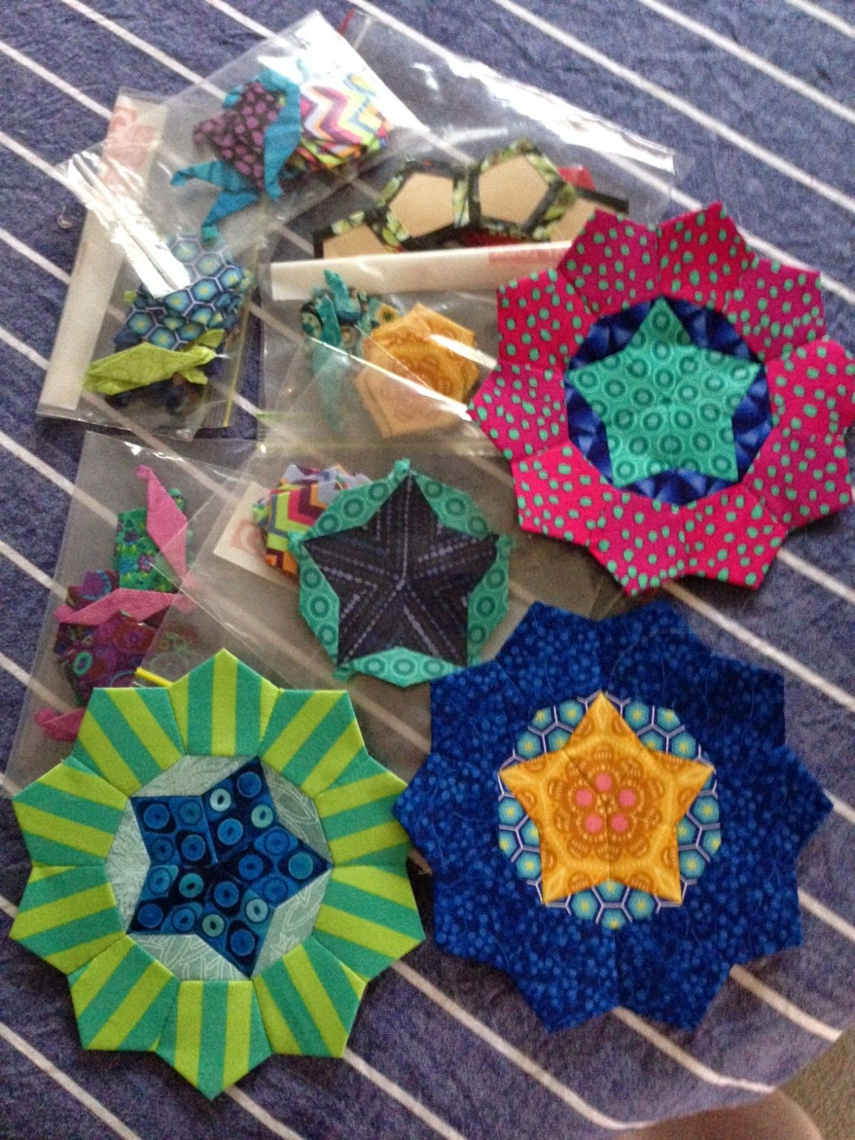 Wendy s quilts and more La Passacaglia progress