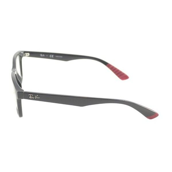 8056915f12 A shiny havana tortoise shell frame highlights these New Wayferer  sunglasses from Ray Ban. These designer frames are finished with brown  gradient lenses  ...