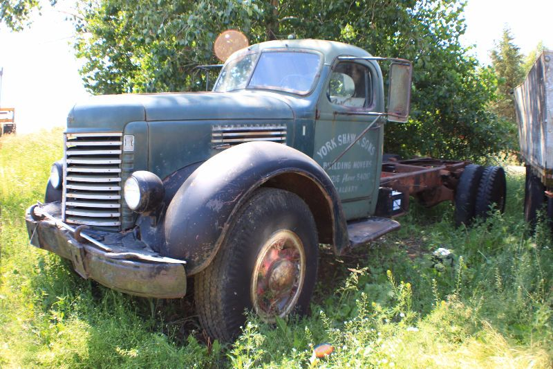 1945 kr 11 international truck for sale  motor turns over