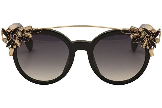 787c96e997 Sunglasses Jimmy Choo Vivy Black dark gray gradient lens