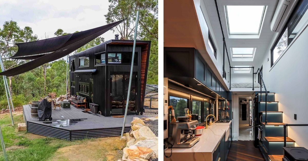 couple builds sleek modern tiny home people are calling on beautiful tiny home ever id=47411