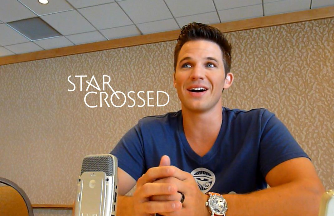 Matt Lanter is awesome. I can't wait to see his new show Star Crossed. :)