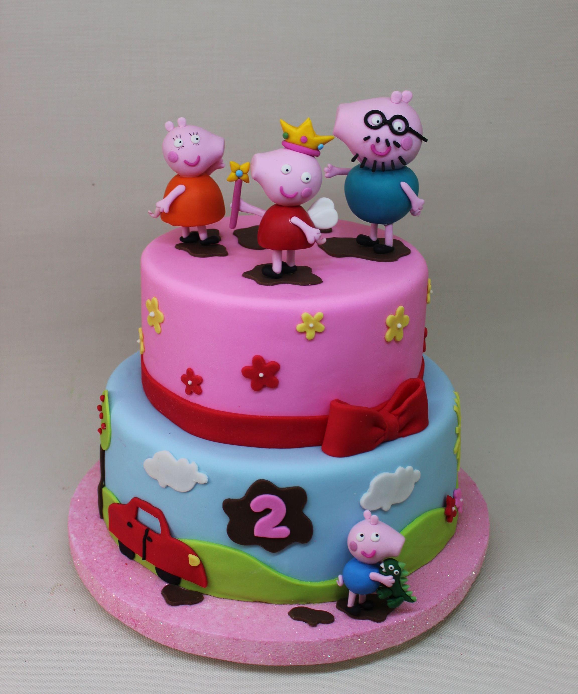 Peppa Pig Cake By Violeta Glace