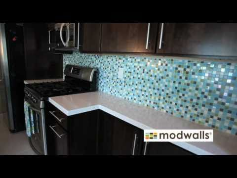 mosaic tile install order and pick pattern design install