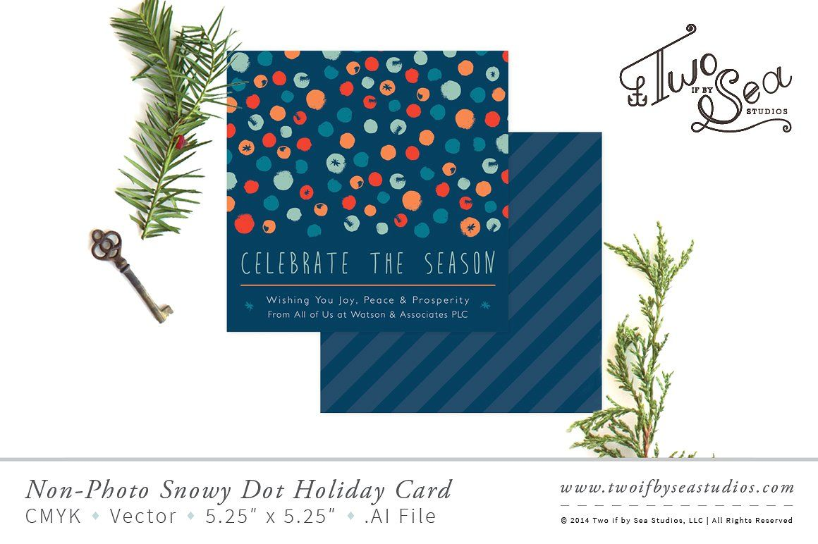 Non Photo Corporate Holiday Card Corporate Holiday Cards Holiday Card Template Holiday Cards
