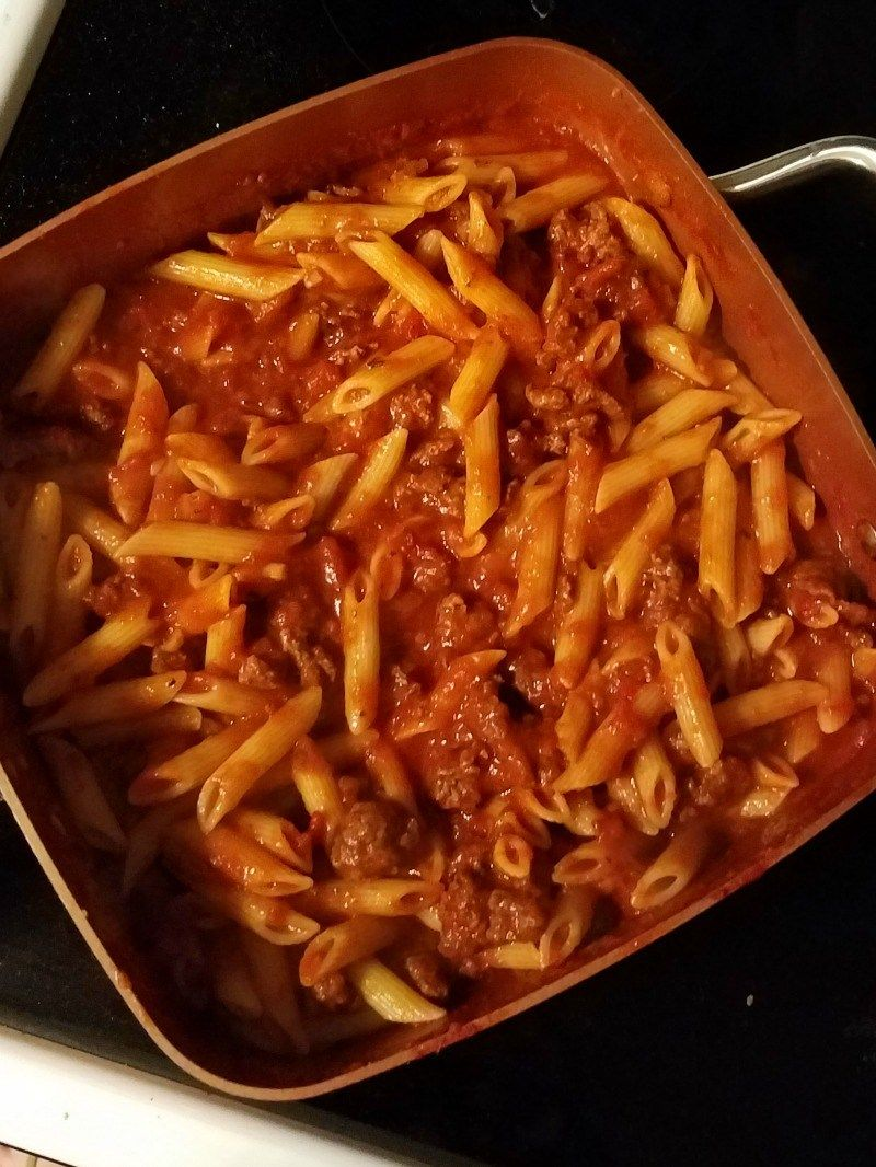Baked Mostaccioli   Receta   Copper Chef Pan Recipes   Pinterest ...