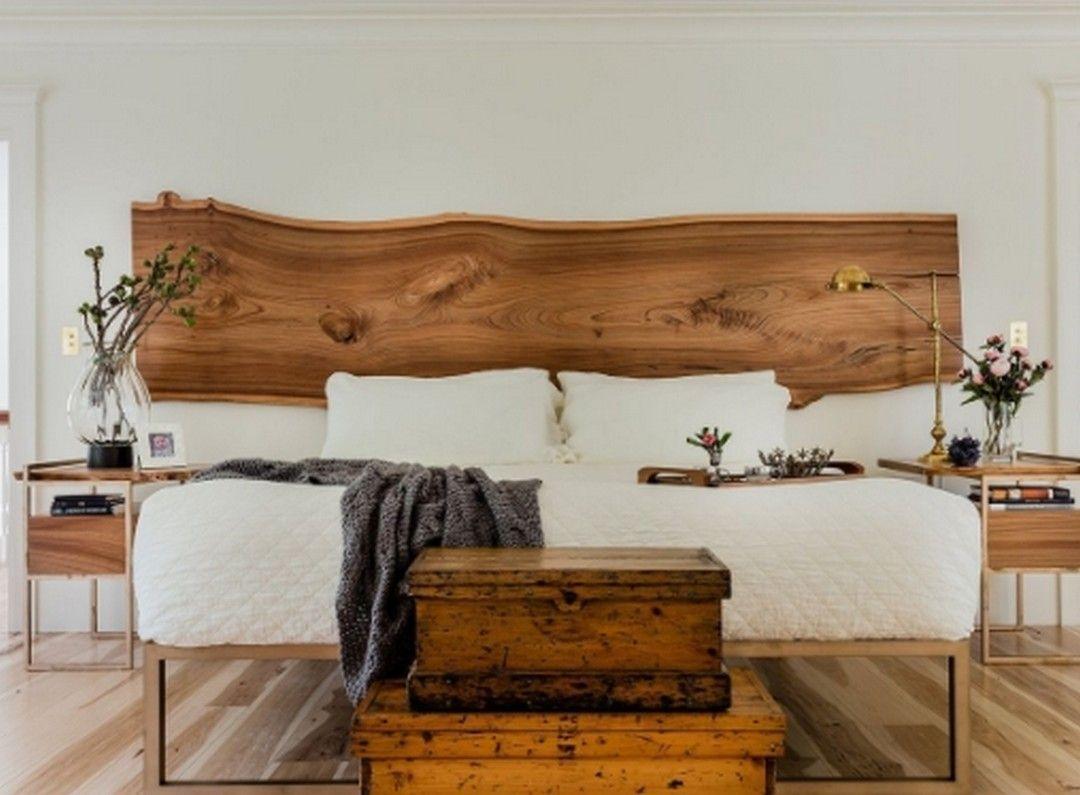 Stunning Interior Master Bedroom Design With Wooden Furniture 3