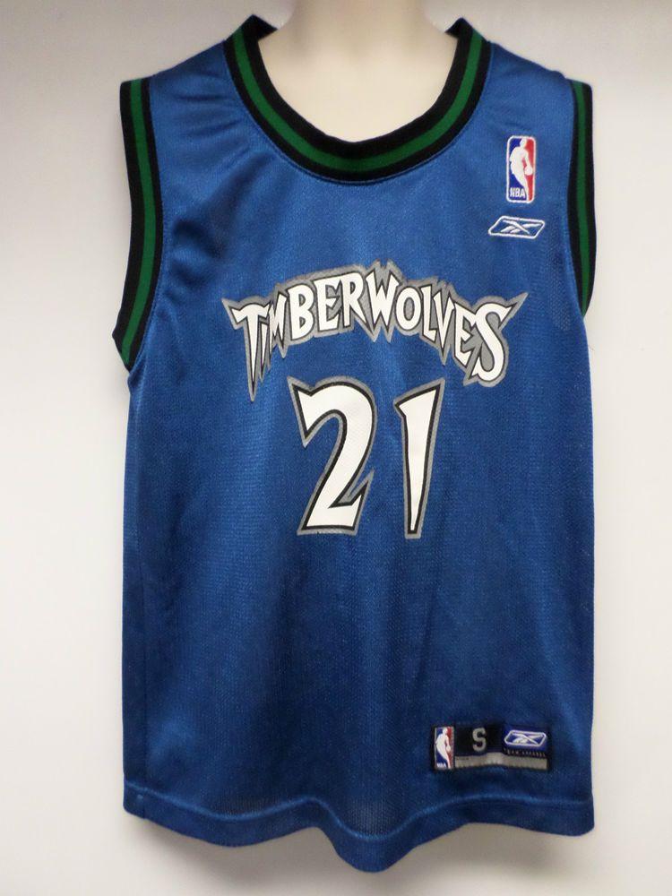 reputable site 0f621 8b994 Details about Minnesota Timberwolves Reebok Basketball ...