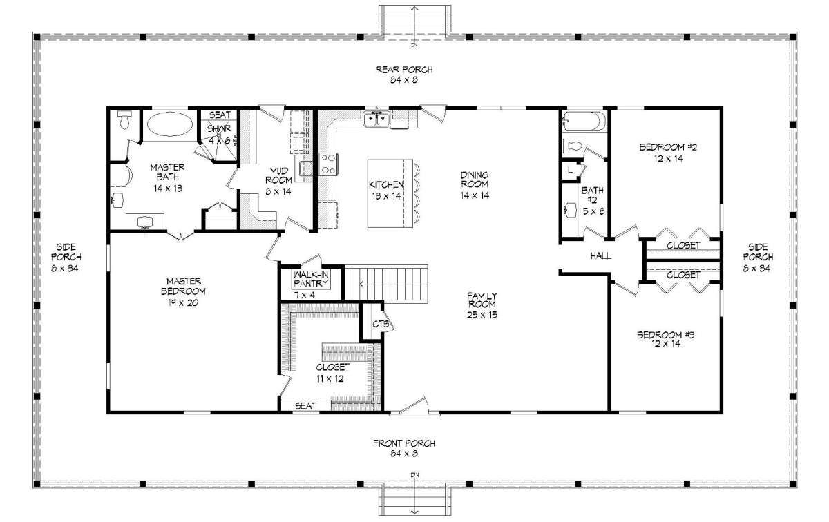 Country House Plan 940