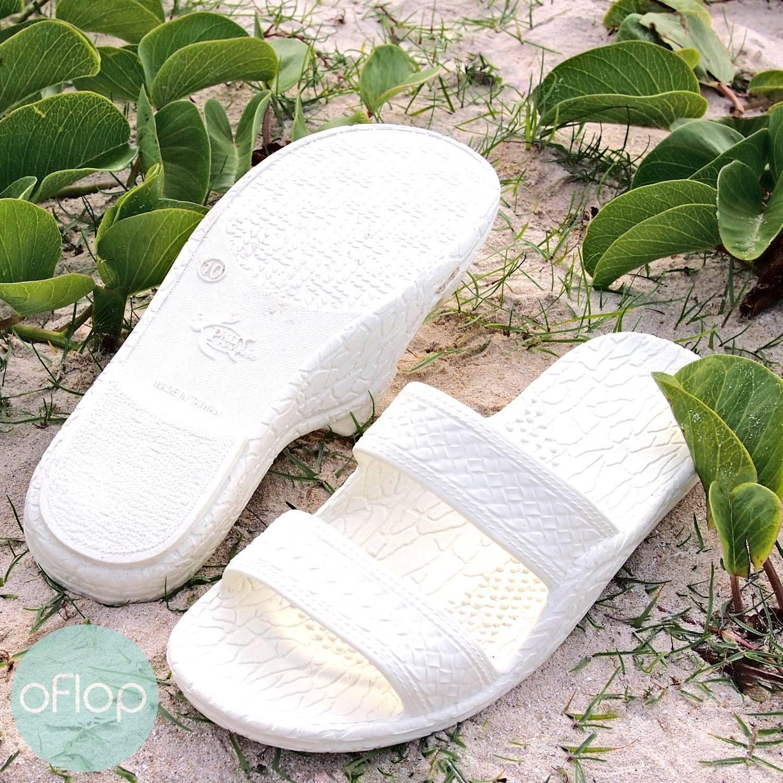 564e95dc9037 White Jandals® -- Pali Hawaii Hawaiian Jesus Sandals in 2019 ...
