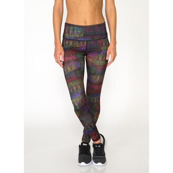 Colorful and playful printed leggings that keep you on trend while you stay focused. Fiercely flexible fabric and material constructed for movement and breathability. This performance enhancing style can keep up with your flow.