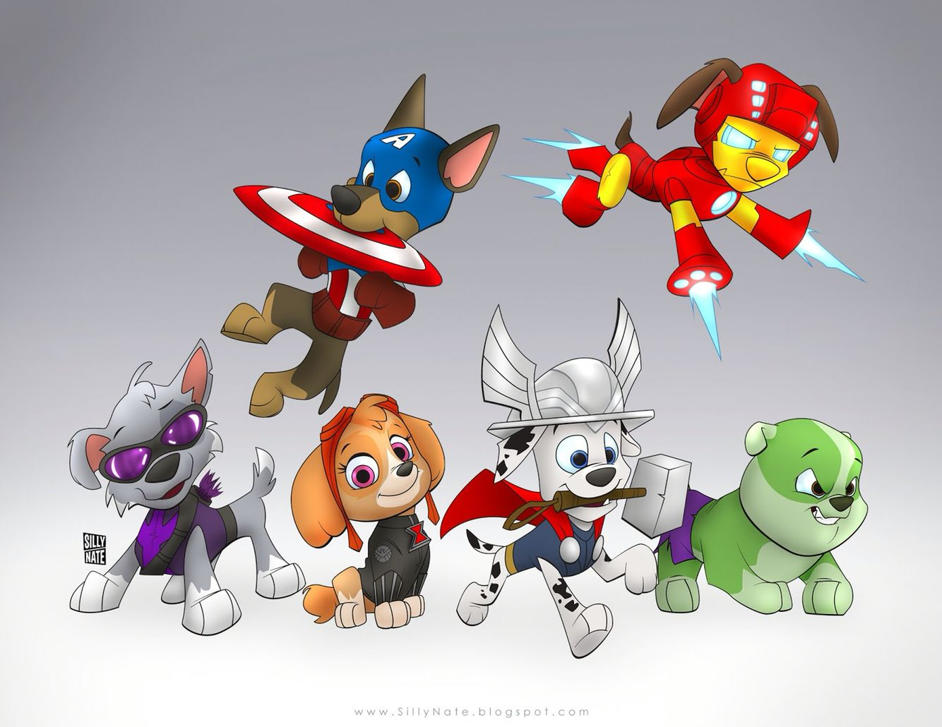 Avenger Pups - Paw Patrol | Nifty Stuff in 2019 | Paw patrol