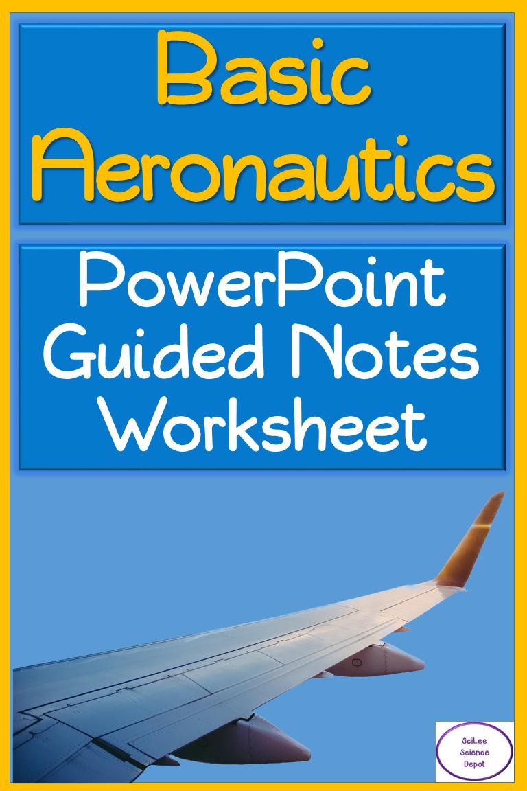 Basic Aeronautics PowerPoint, illustrated Student Guided