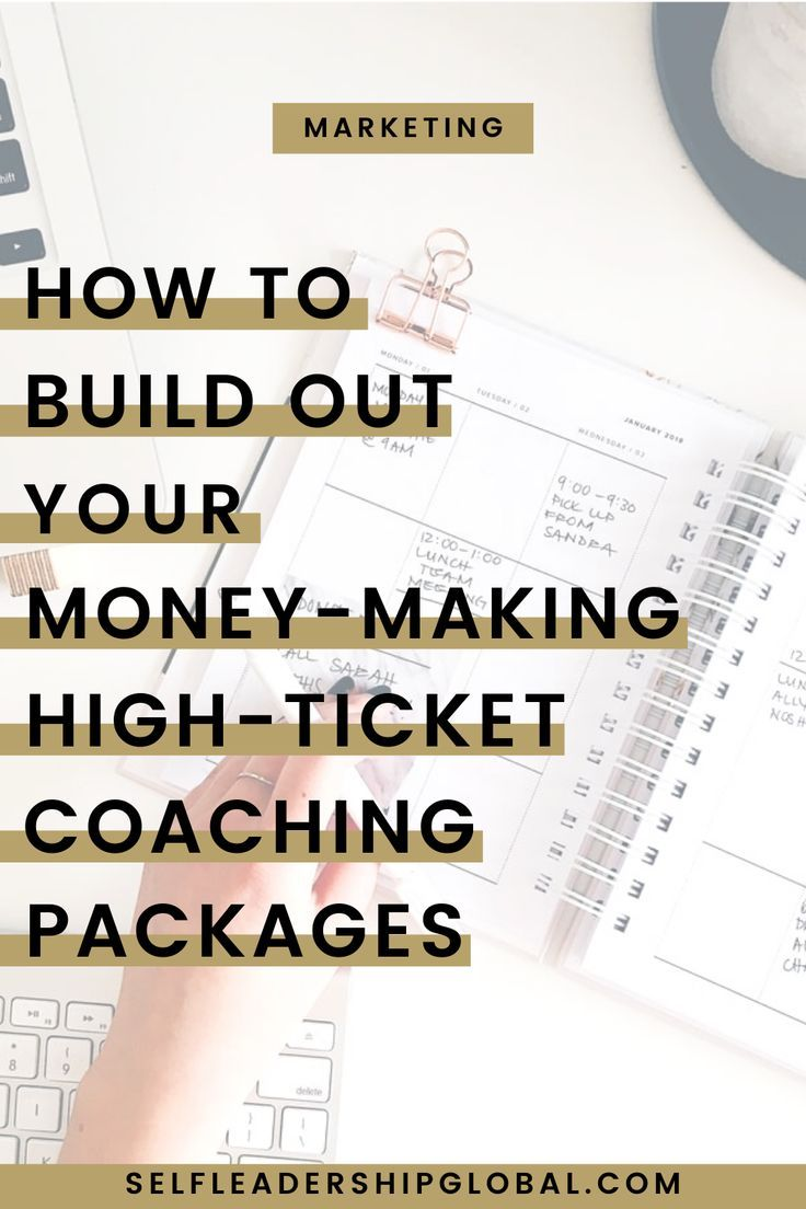 How To Build a Premium, HighTicket Coaching Package That