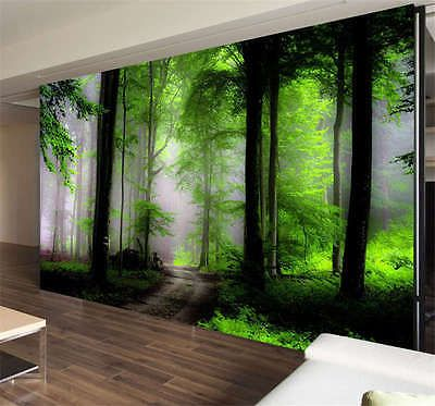 Dream Mysterious Forest Full Wall Mural Photo Wallpaper Print Kids ...