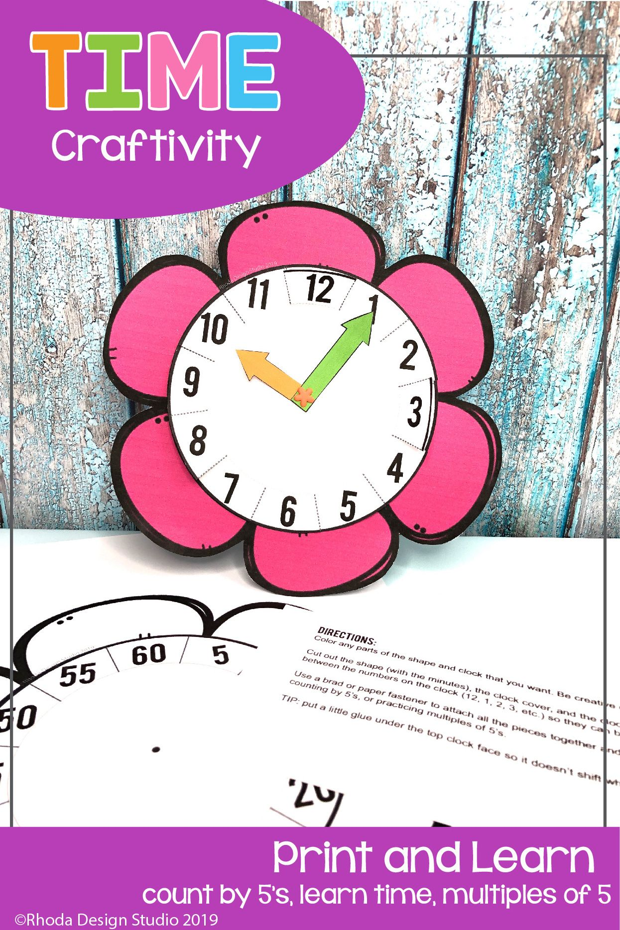 Help Your Kids Learn To Tell Time With This Hands On