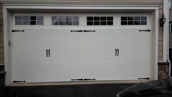 Two Car Garage Door Size With Ideal Window Size And Design Home Interiors Garage Door Design Garage Doors Garage Door Spring Replacement