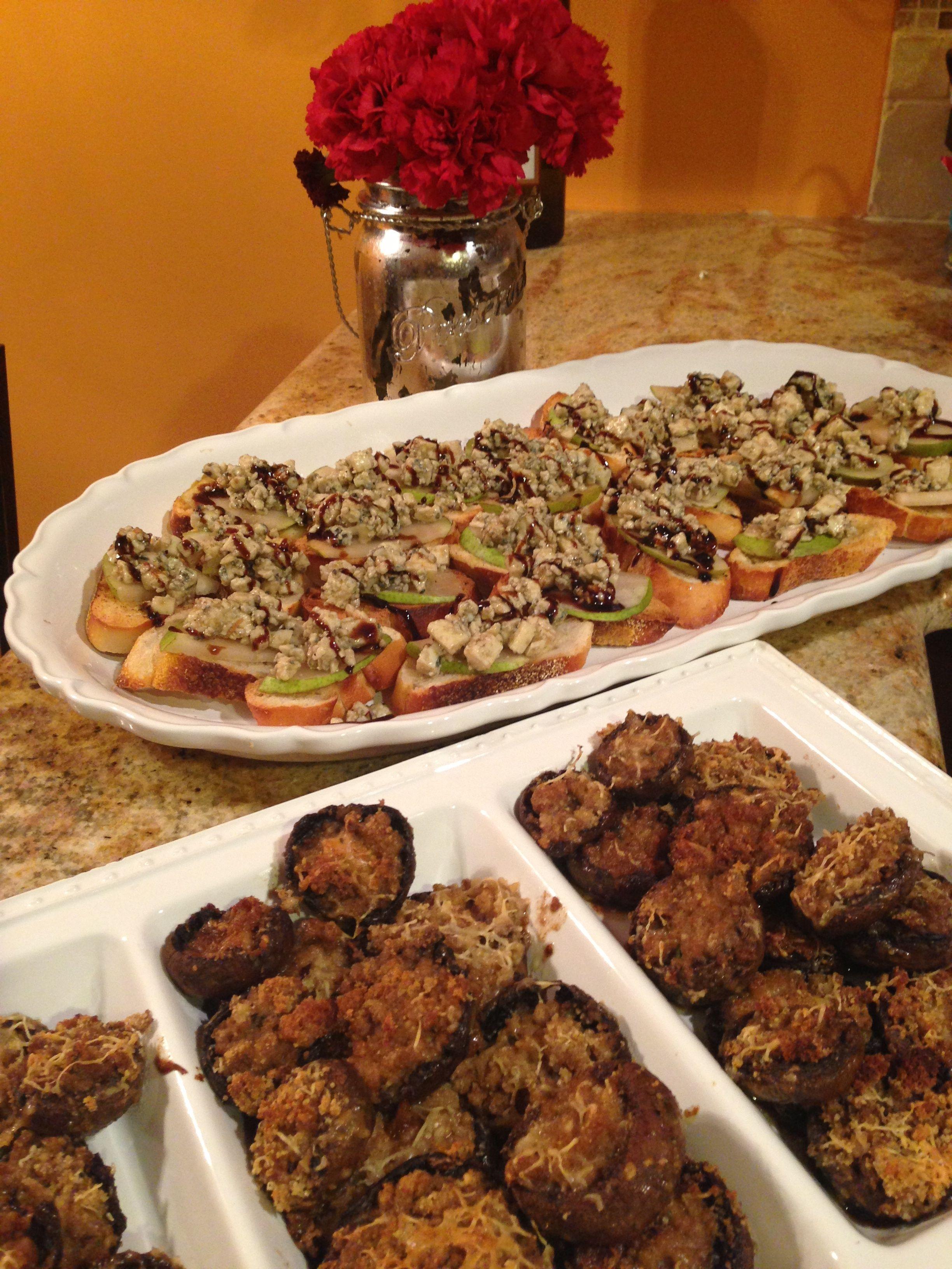 Stuffed marsala mushrooms recipe mushrooms everyday food and food forumfinder Images