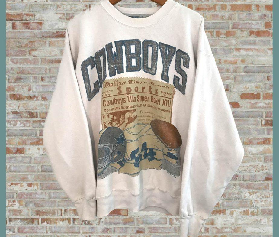 newest collection 817fb cb339 Vintage Dallas Cowboys Crewneck Sweatshirt | Mi estilo ...