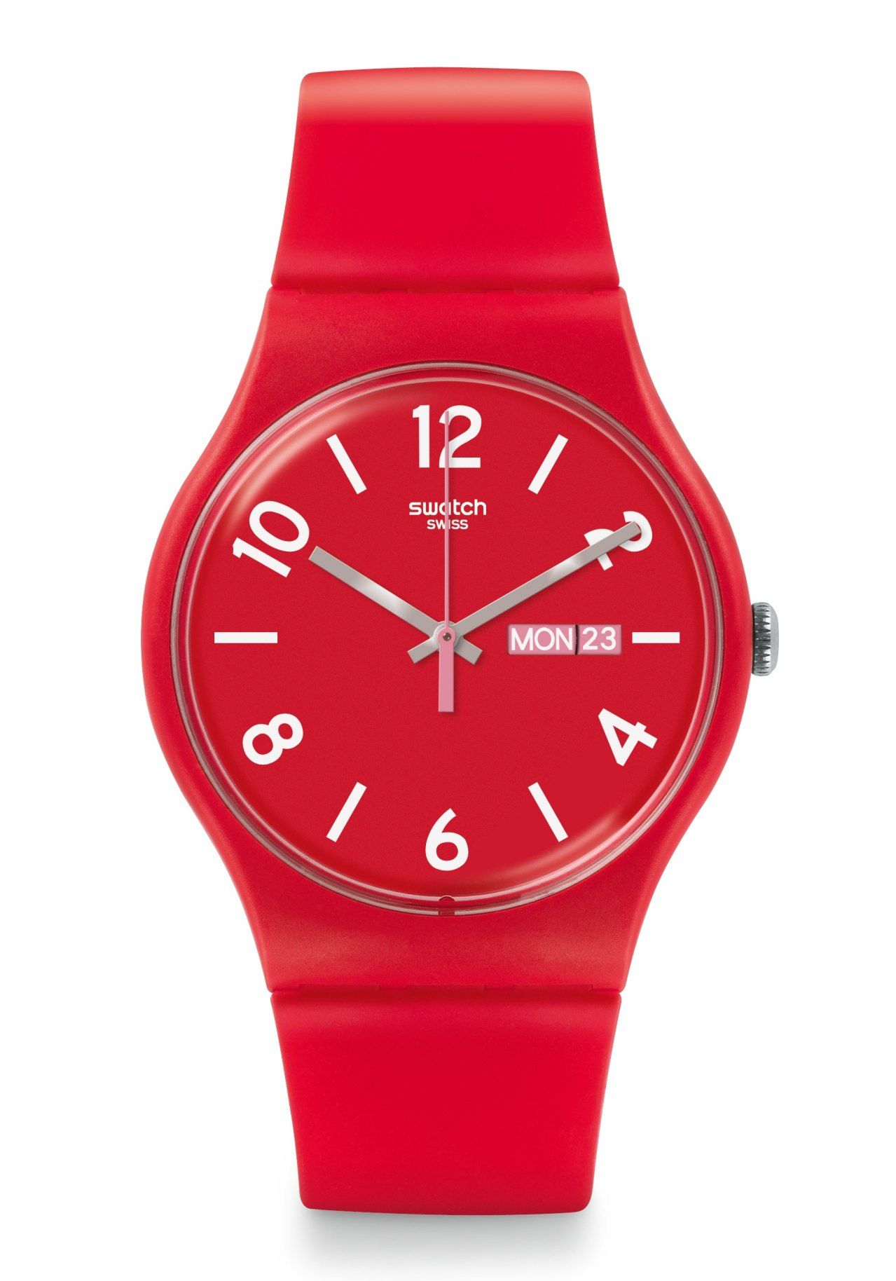 0ace6f126c66 Reloj Swatch Unisex Suor705 Backup Red Ag. Oficial -   1.995