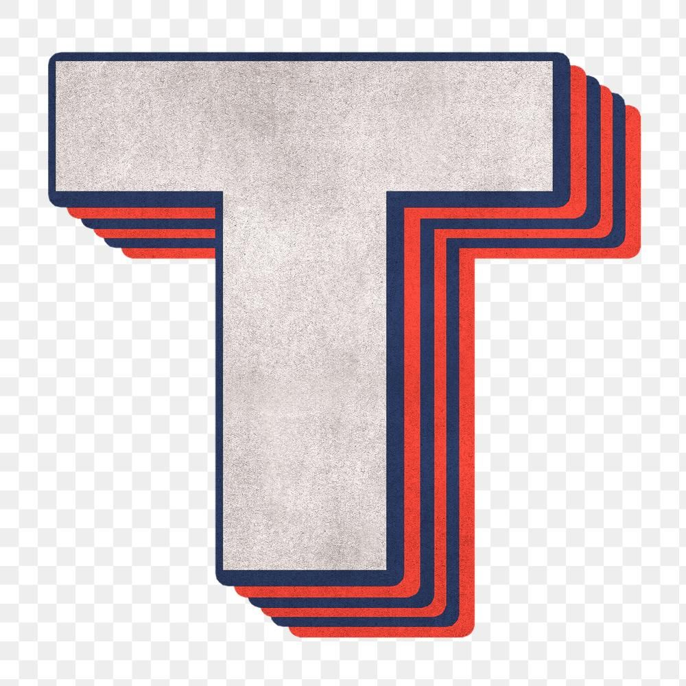 Letter T Png Layered Effect Alphabet Text Free Image By Rawpixel Com Cuz Lettering Alphabet Letter T