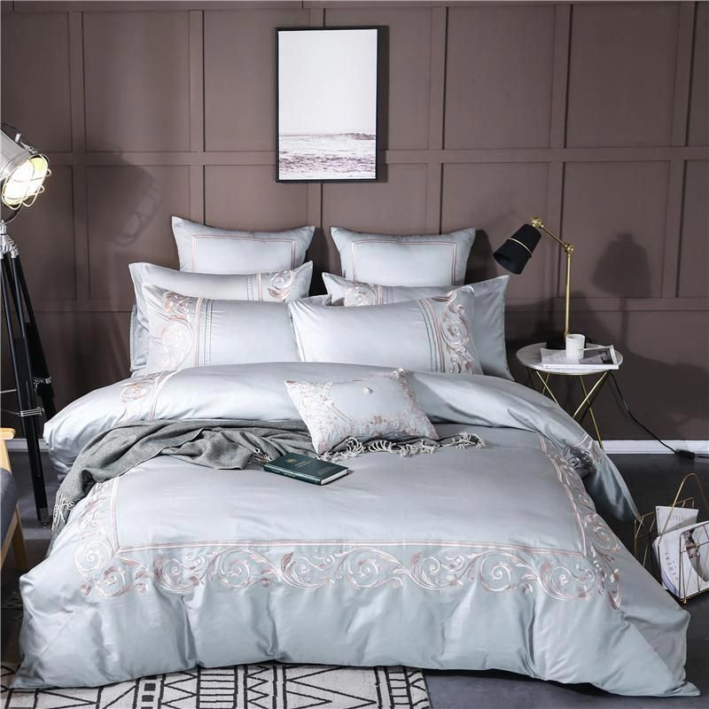 9d24f56ddf5d 4/6/7Pcs Egypt cotton Palace classic art Bedding Set golden embroidery  Duvet cover set Bed Sheet Pillowcases Queen King size. Yesterday's price:  US $192.00 ...