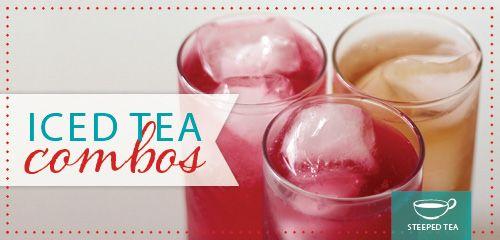 Recipe: Iced Tea Combos