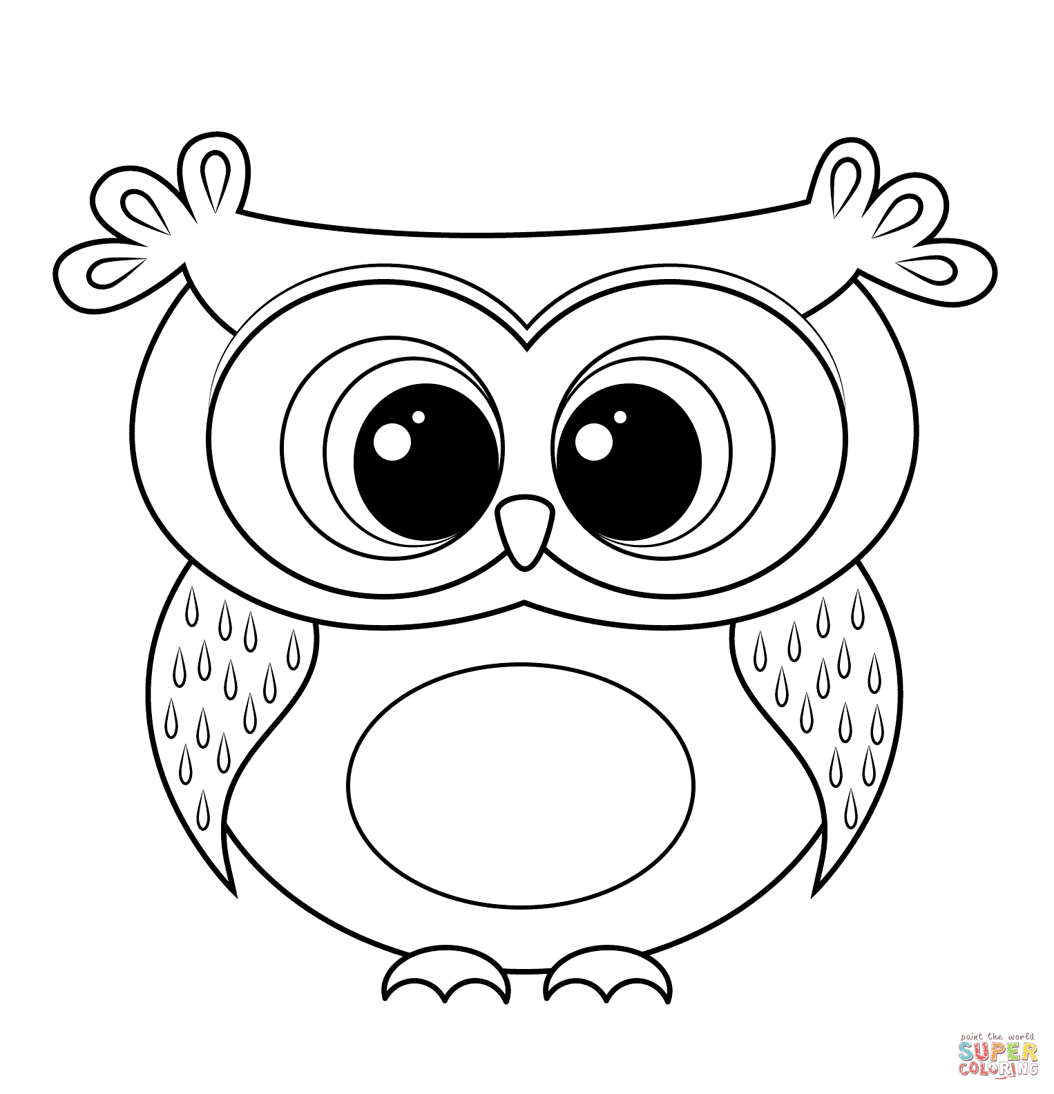 44 Top Cartoon Owl Coloring Pages To Print , Free HD Download