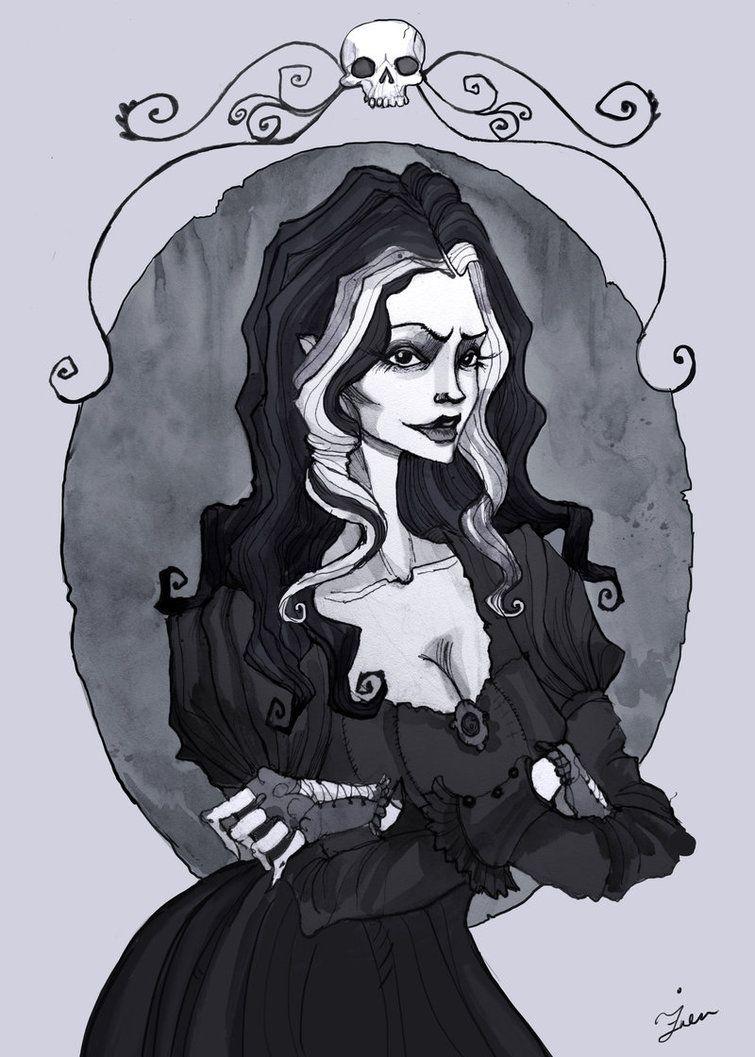 """bellatrix portrait"" | IrenHorrors on deviantART"