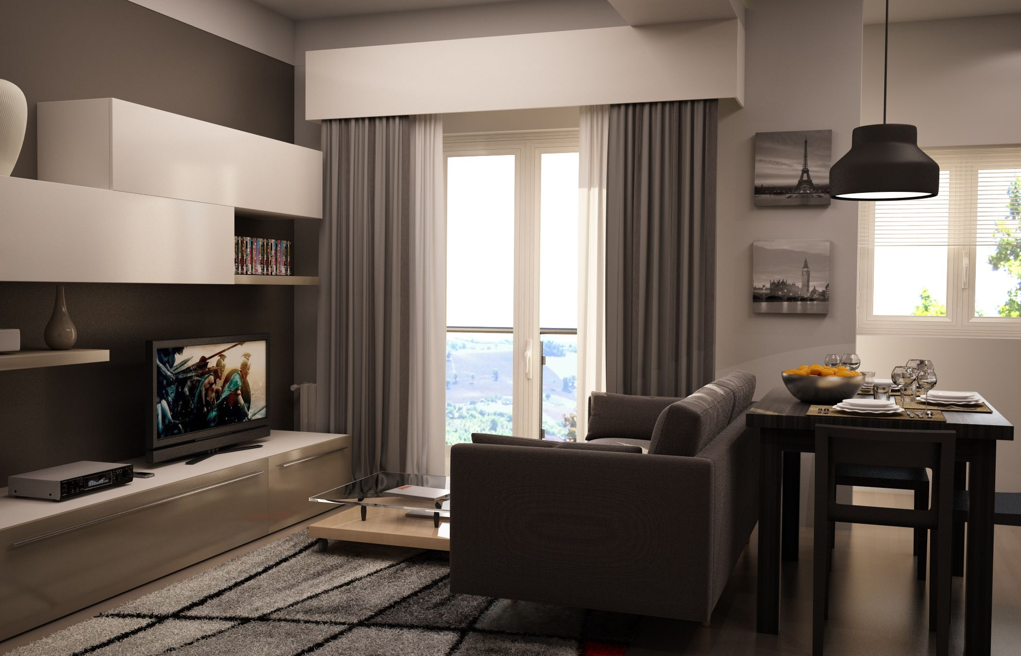 Pianta Soggiorno ~ Rendering soggiorno. rendering living. progetto dinterni