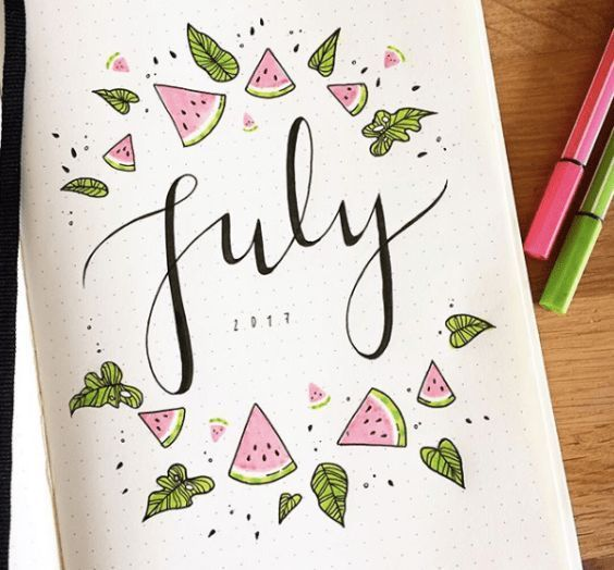 89 ideas for the Bullet Journal to inspire you for your next entry
