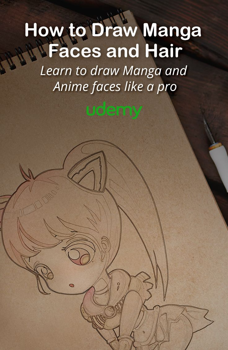 Learn to draw manga faces and hair like a pro with this online course master all the distinct characteristics that make manga such a unique and popular