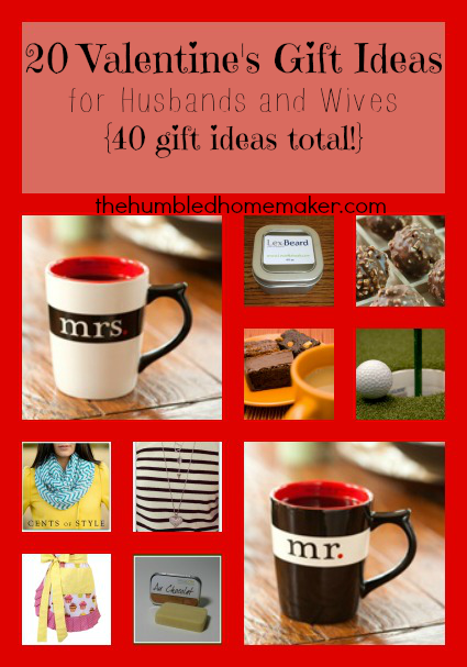 20 Valentine's Day Gift Ideas for Husbands and Wives {40 Gift ...
