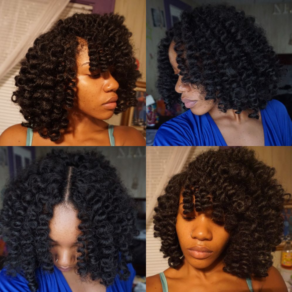 Knotless Marley Hair Crochet Weave Protective Style Done By Niara