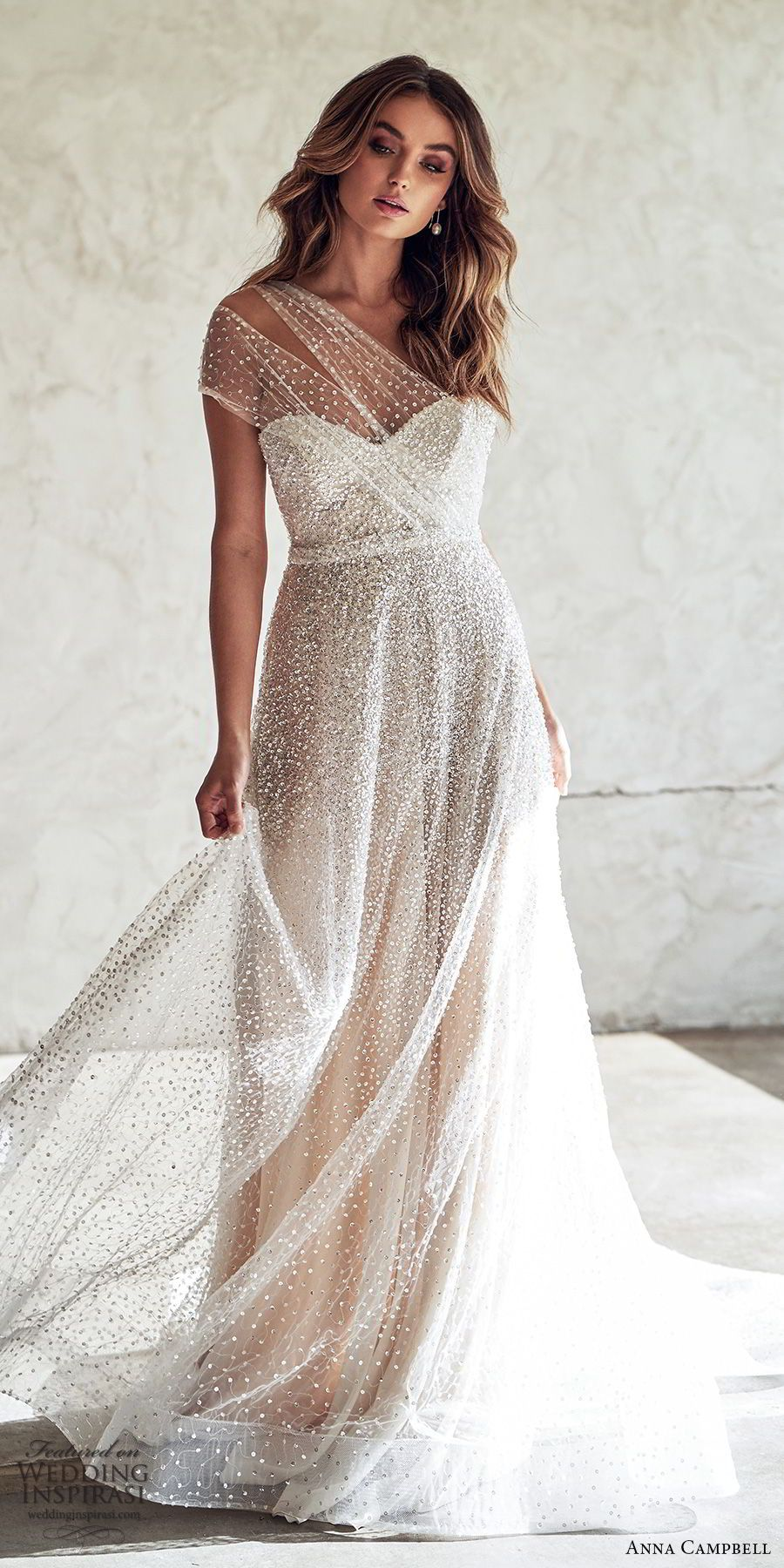 Anna Campbell 2020 Wedding Dresses Lumiere Bridal Collection Wedding Inspirasi Anna Campbell Wedding Dress A Line Wedding Dress Anna Campbell Bridal