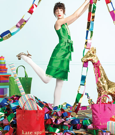This was my background on my computer at Christmas! | Kate Spade Ads ...