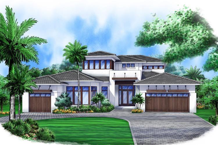 house plan 207 00013 contemporary plan 4339 square feet 4