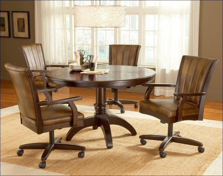 Swivel Dining Room Chairs With Casters Luxuryofficechairs