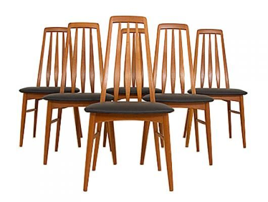 teak high back dining chairs home pinterest teak dining