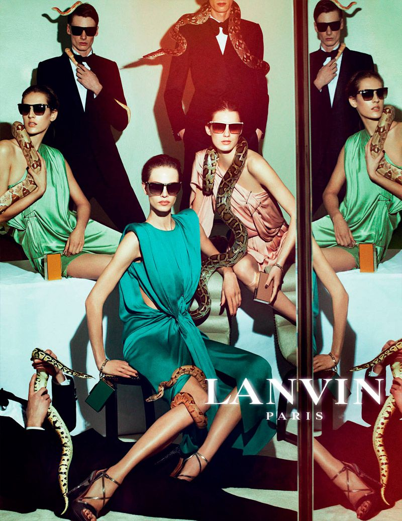 Spring lanvin summer campaign best photo