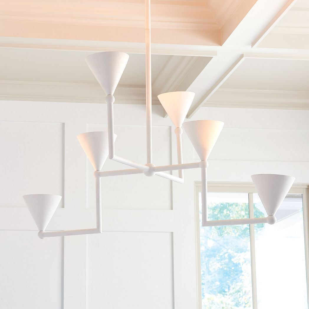 cylinder chandelier Pendant light from plaster cylinder pendant light white chandelier plaster cylinder chandelier from plaster