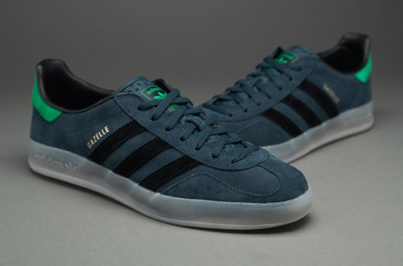 Indoor Real Heren Adidas Gazelle schoenen Selecteer Zwart Dark Originals Petrol Green 4qqBP